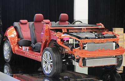 plataforma M1X autos Chery